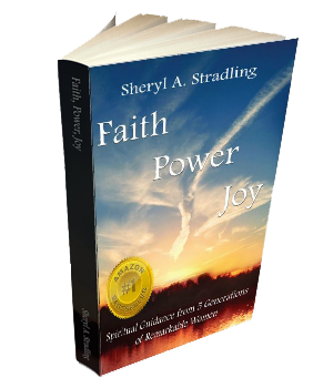 Faith Power Joy - book cover with Amazon Best Seller Badge